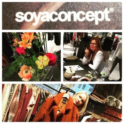Börjar #fashionfair 2018 Hos goa Bettan på #soyaconcept ❤️😍⭐️
