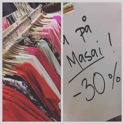 Nu många utvalda plagg på Masai till 30% rabatt 👍#butikehlsasgarderob