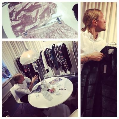 Visning av superfina varor hos Christoffer och Kajsa på Happi Holly & MakeWay 😍😍