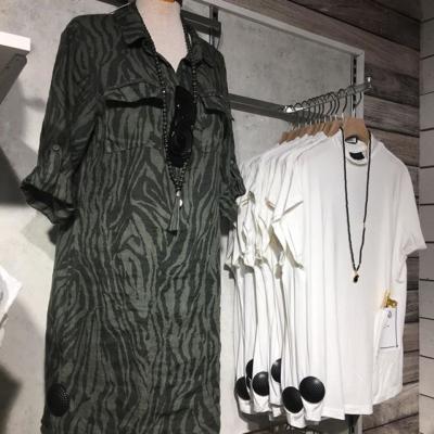 Cool nyhet i zebra armegrönt💖#butikehlsasgarderob