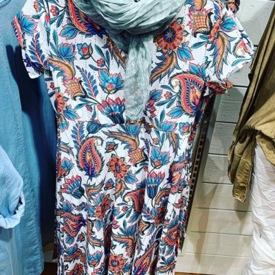 Jättefin ny klänning från @happi 599:- Storlek S-XXL.