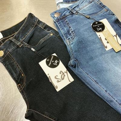 Du som gillar Isay's Lido jeans måste kolla in den nya ljusare färgen 👍🏼👍🏼 Samma pris: 799:-
