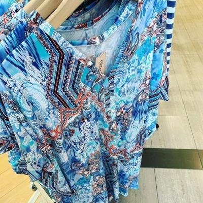 Favorit klännings modell äntligen här igen , sval och skön i denna värme 🙌☀️ One size 399kr